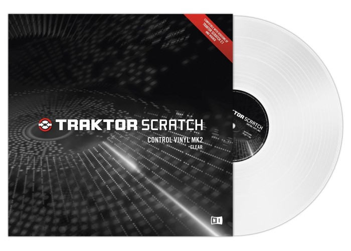 Native Instruments Control Vinyl -White (1 unidade) mk2