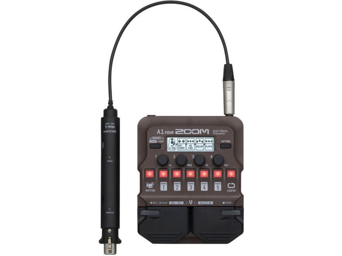 Zoom A1 Four Acoustic FX Pedal