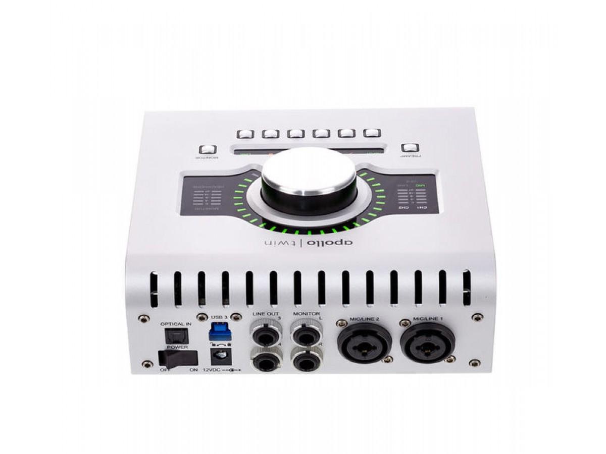 universal audio interface audio   APOLLO TWIN MKII USB DUO