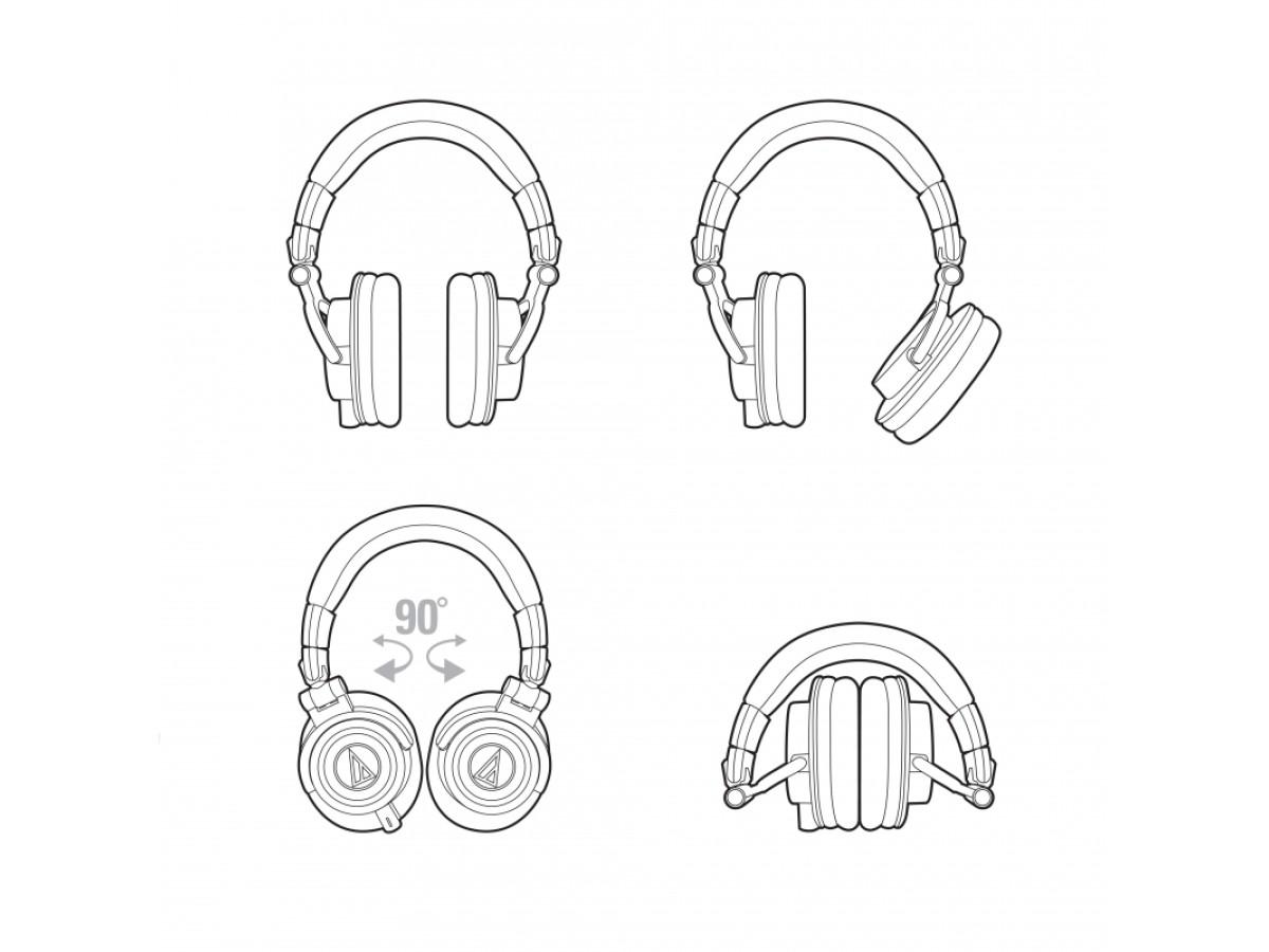 Audio-Technica ATH-M50X WH