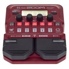 Zoom B1 Four Bass Multi Effect