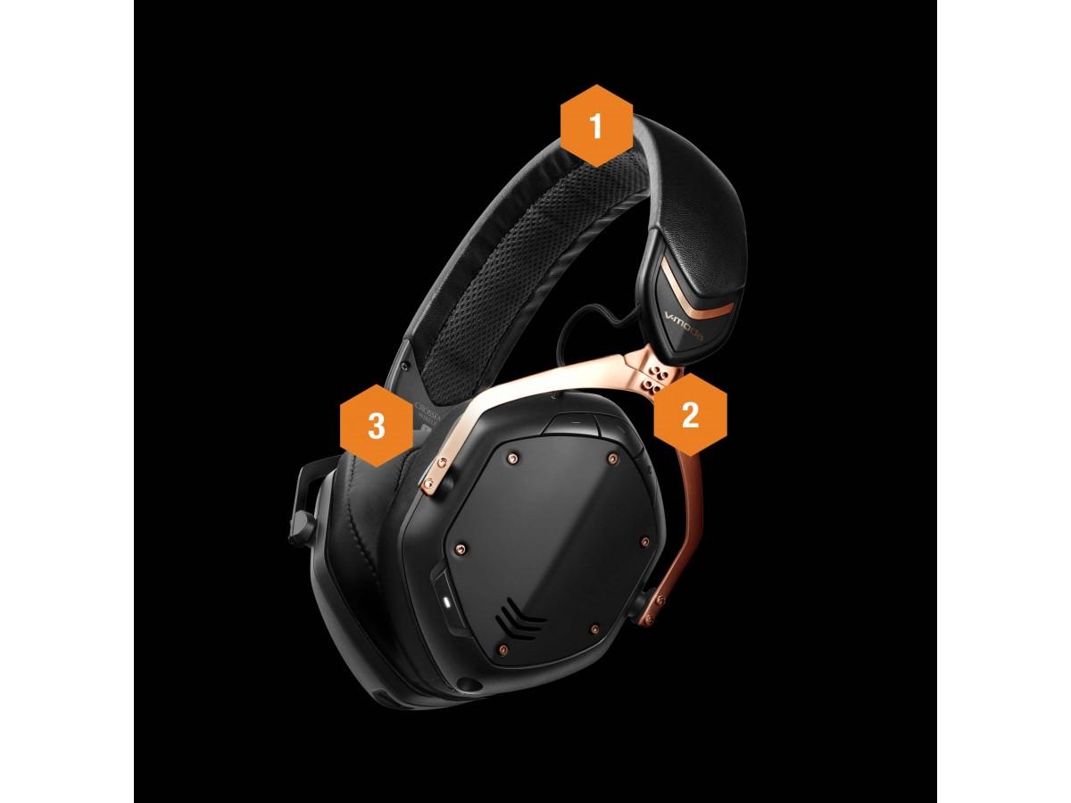 V-MODA OVER EAR HEADPHONE CROSSFADE 2 wireless matte black