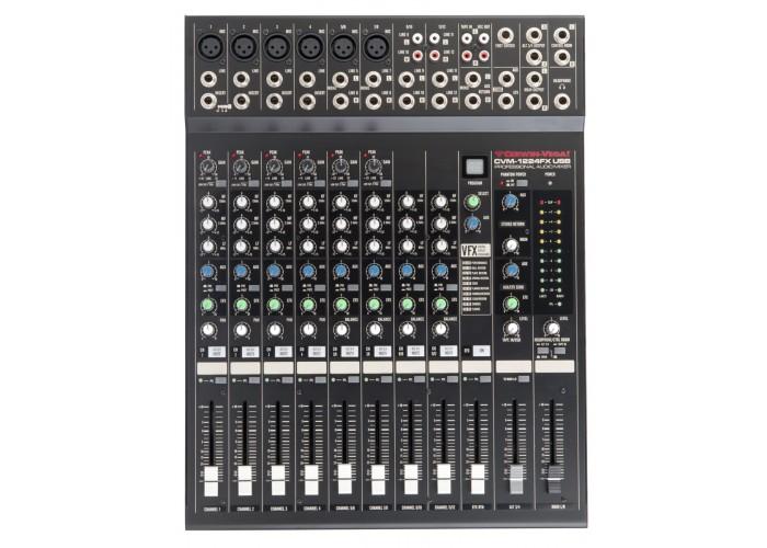 Cerwin Vega CVM-1224FX USB - 12 canais ( 6 mics + 4 stereo + 4 mono )
