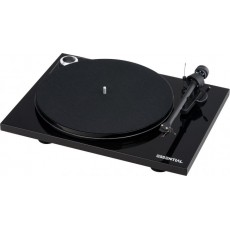 Pro-Ject Essential III  Phono Black piano