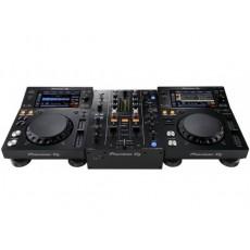 Pioneer DJ XDJ-700 x2 + DJM-450 x1