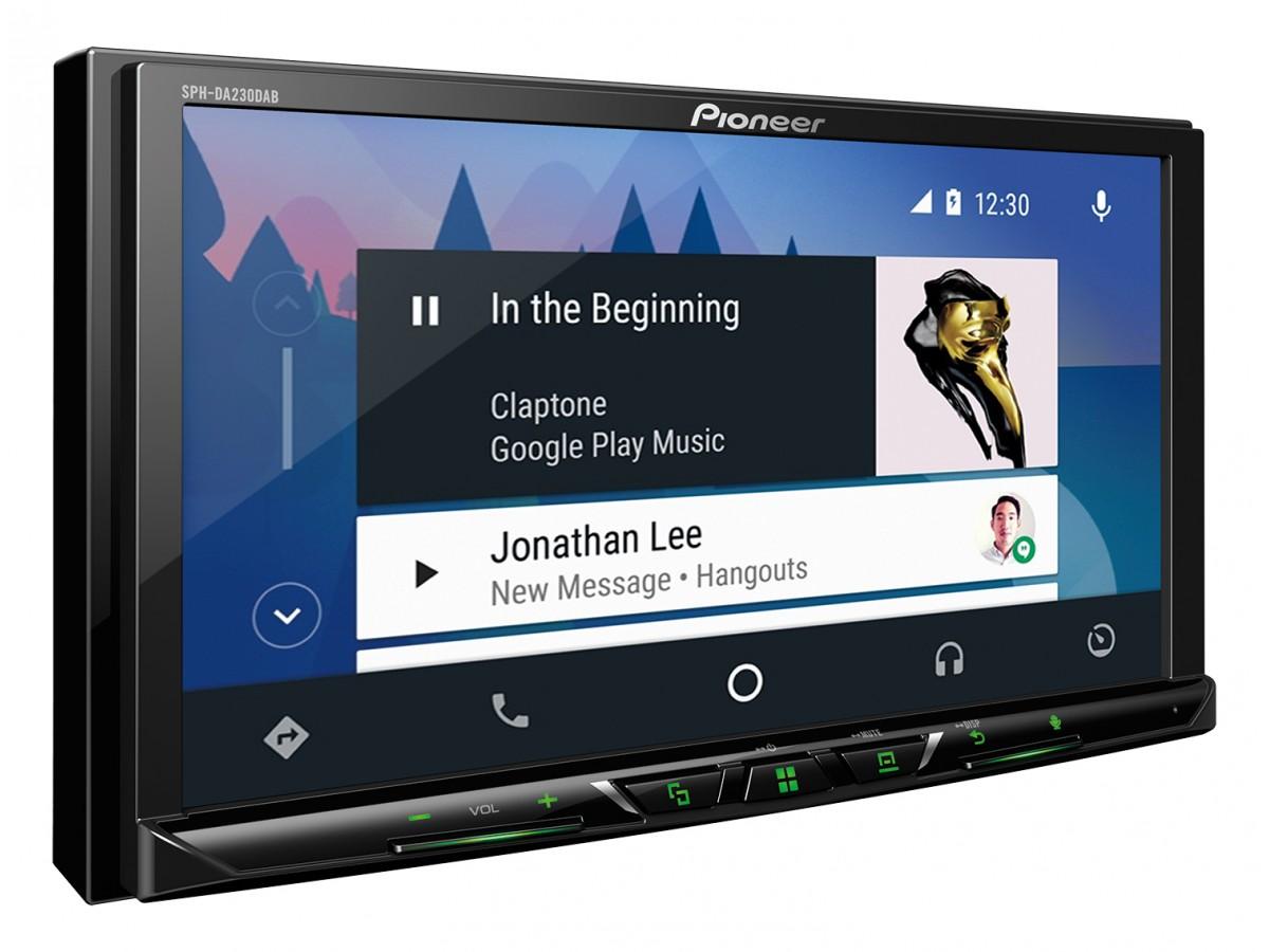 Pioneer Auto Rádio | SPH-DA230DAB - Apple Carplay, Android Auto