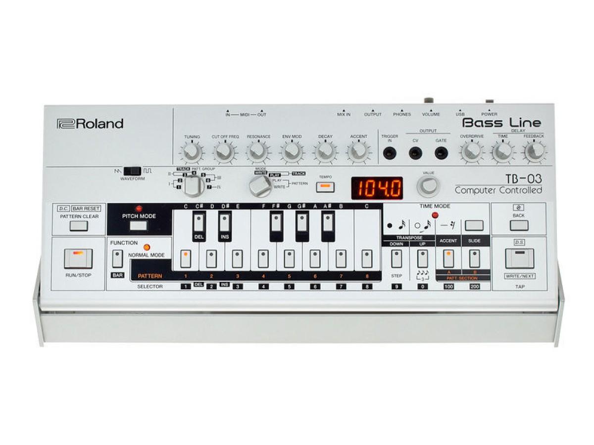 Roland TB-03 BOUTIQUE Bass line