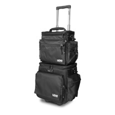 UDG Ultimate SlingBag Trolley Set DeLuxe MK2 Black, Orange Inside