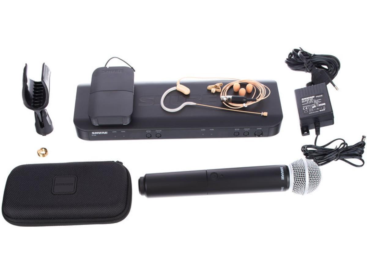 Shure BLX1288/MX53 - Dual UHF Wireless-System