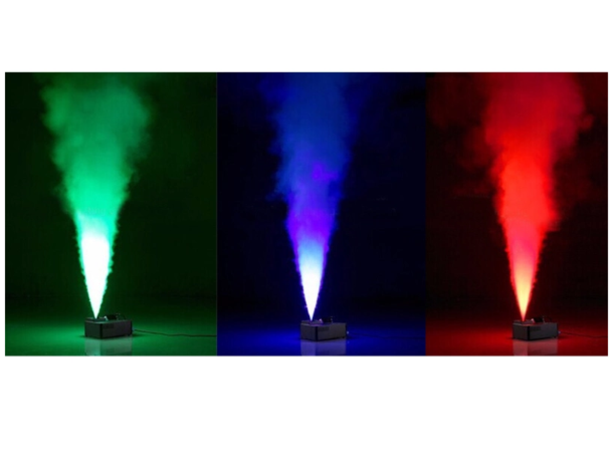 Art System Fog dmx1500 smoke up - led rgb