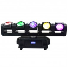Art System LED infinite moving head(5pcs 10W Cree LED 4 in 1)