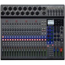 Zoom LiveTrak L-20 Combined mixer, audio interface and recorder