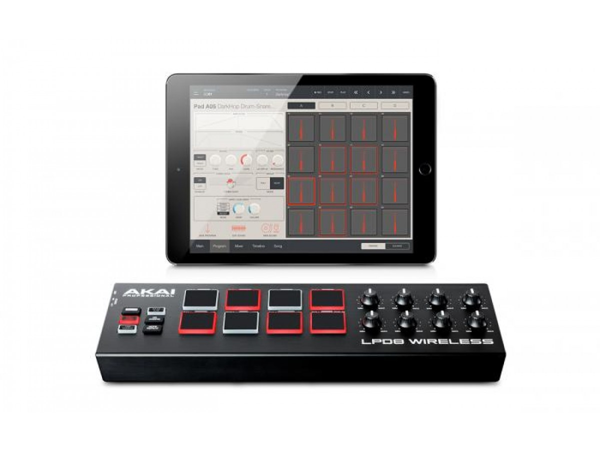 Akai LPD 8 WIRELESS.