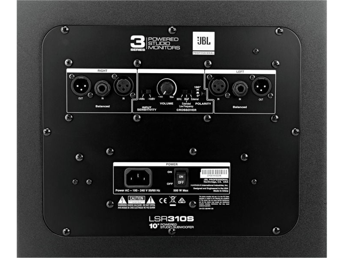 JBL LSR 310S