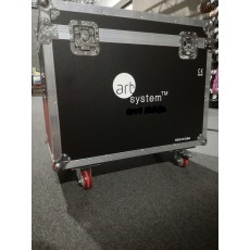 Art System Flightcase Beam 9R x 2