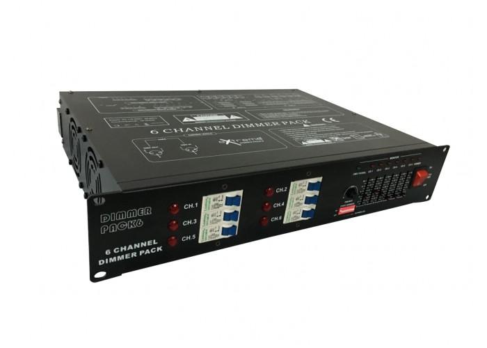 Art System Dimmer6ch20A - para par 64 6 canais, 20A