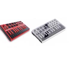 Akai MPK mini MK2 Red Limited Edition + Decksaver Akai MPK Mini MK2