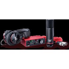 Focusrite Scarlett SOLO 3GEN pack - Solo3G+CM25 MKII+HP60 MKII