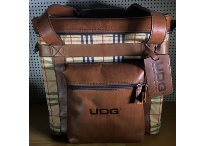 UDG leather analine brown.