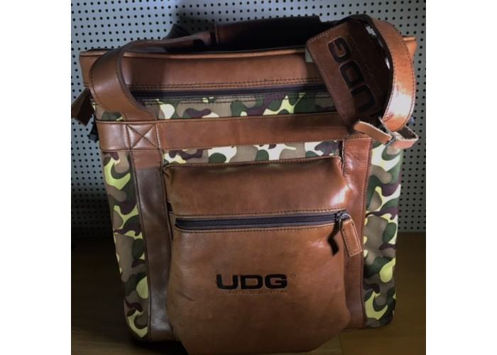 UDG leather split brown army.