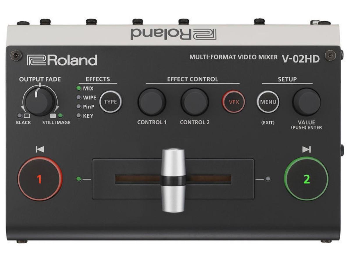 Roland V-02HD