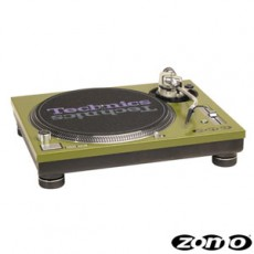 Zomo Technics sl1210mk5 twin verde par - B-Stock