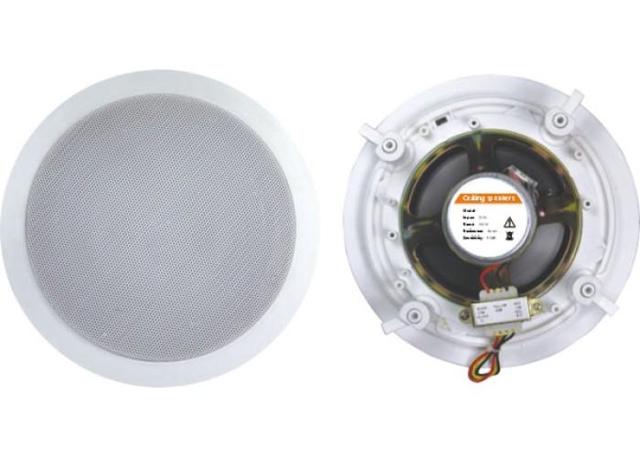 Art System Y-303P, 6-10w, 6,5 pol.,70/100v,grelha metal, c/tweeter