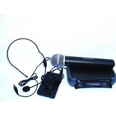 art system microfone sem fios set