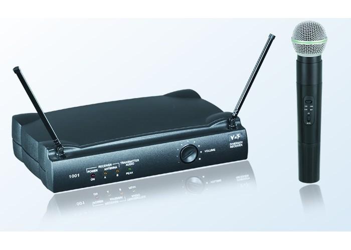 Art System Art m 1001 b - (mão+lavalier+headset) vhf 174-270 mhz
