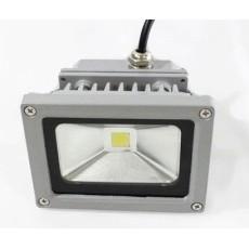 Art System 90-260VAC, 10W led,750LM,branco frio 6400ºk, alu, 114x86x85mm