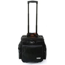 UDG slingbag deluxe black orange inside