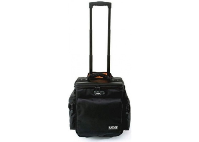 UDG Ultimate SlingBag Trolley DeLuxe Black, Orange Inside MK2