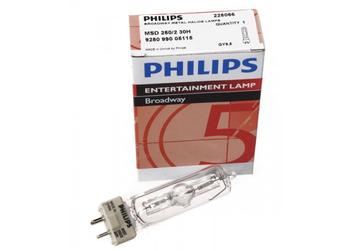 Philips MSD 250W/2   GY9,5   8500K