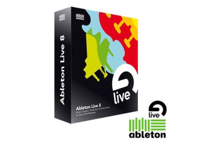 Ableton Upgrade de Live 7 para live 8